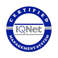 Certificado IQNET ISO 14001 e IQNET ISO 9001.